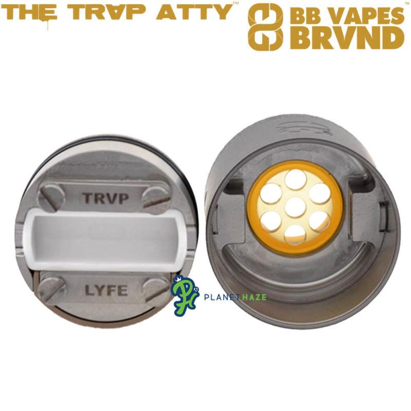 BB Vapes TRVP Cap and Deck Inside