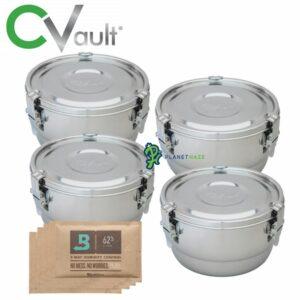 Freshstor CVault Storage Container 2 Liter - 4pack