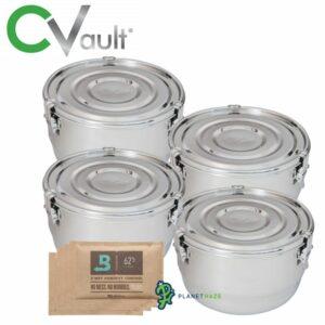 Freshstor CVault Storage Container 4 Liter - 4pack