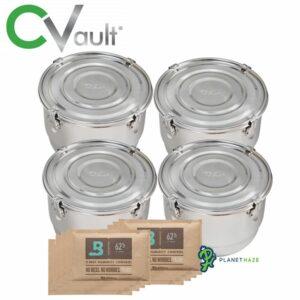 Freshstor CVault Storage Container 8 Liter - 4pack