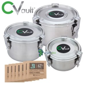 Freshstor CVault Storage Containers Personal Combo 2