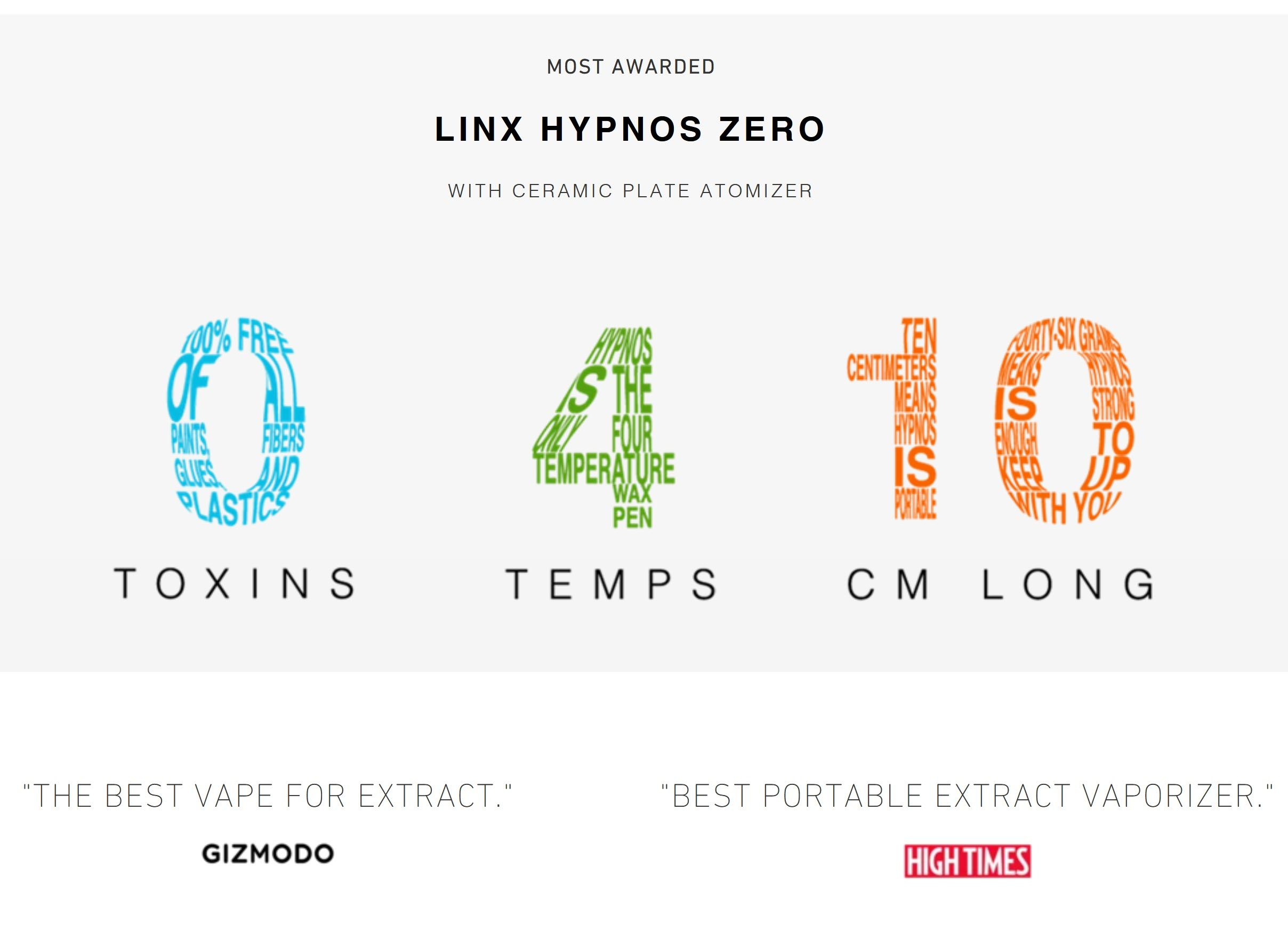 Linx Hypnos Zero High Times Winner