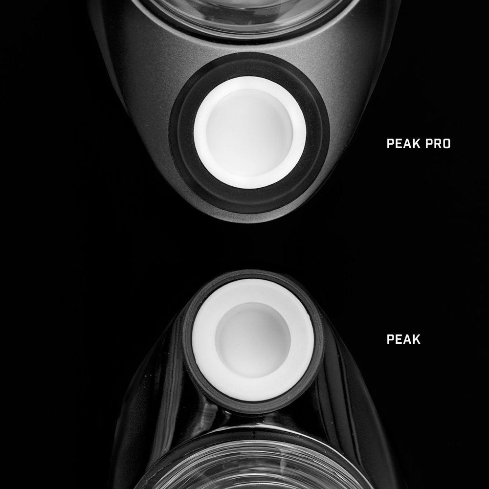 Puffco PEAK Pro Chamber Size Comparison