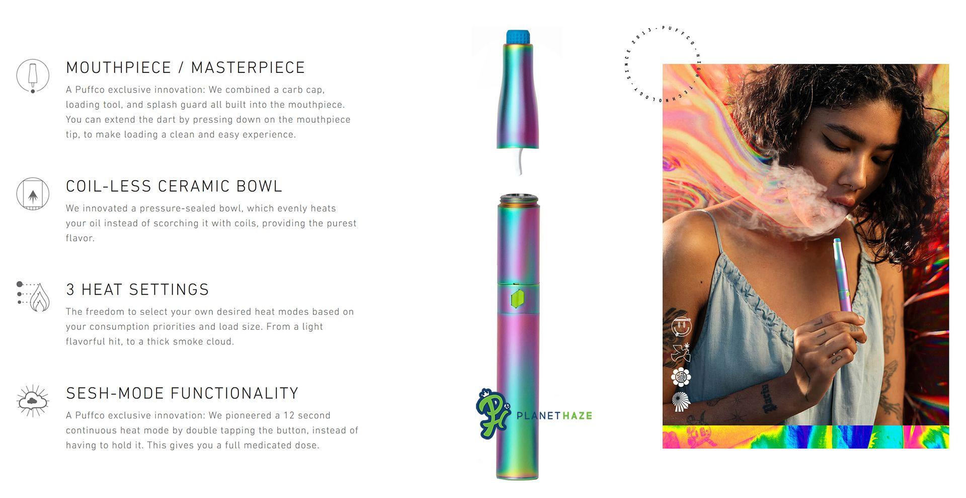 Puffco Vision Plus Design